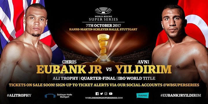 Chris Eubank Jr Vs Avni Yildirim