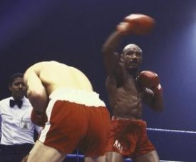 Alan Minter vs Marvin Hagler